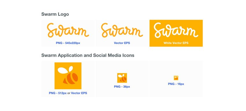 swarm logo files