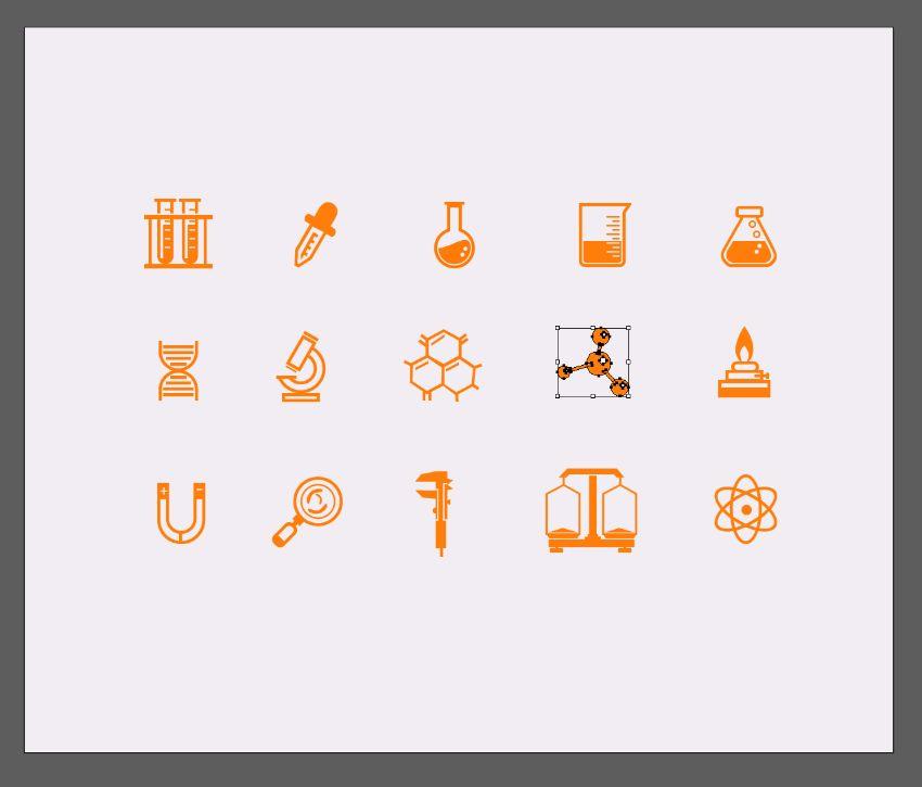 illustrator icons