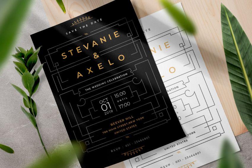 simple invite template