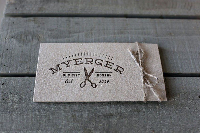 letterpress labels