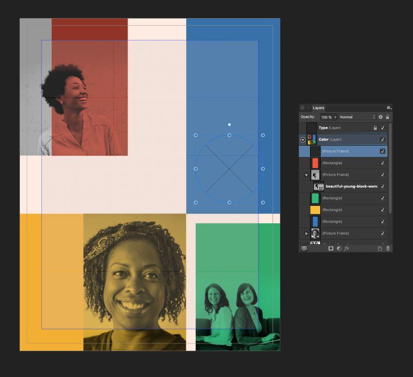 ellipse image frame