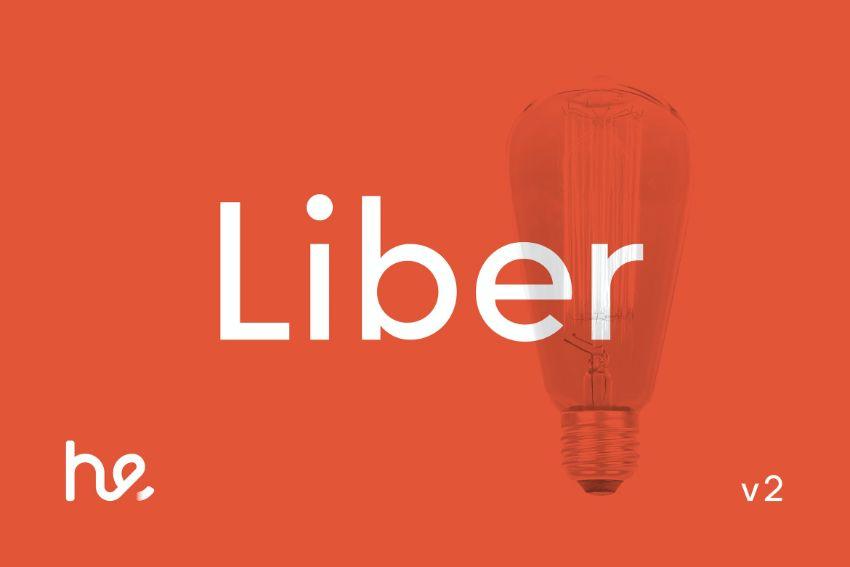 liber font