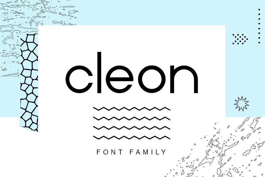 cleon font