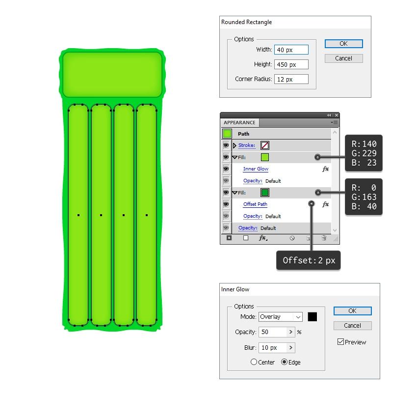 add details on float mat