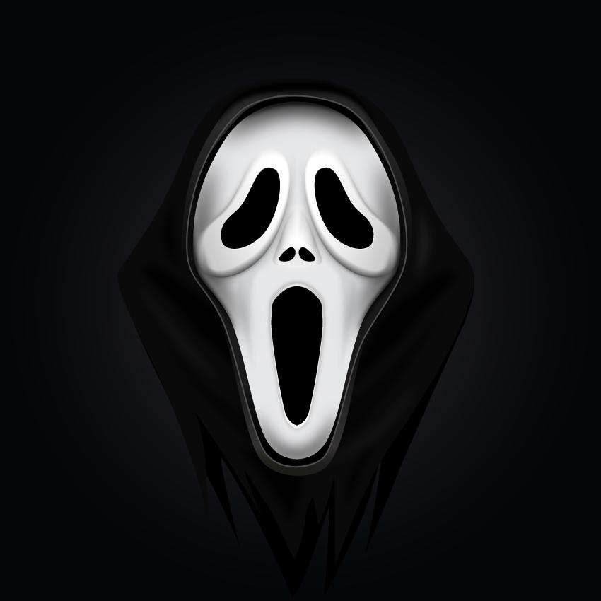 Scream mask final image