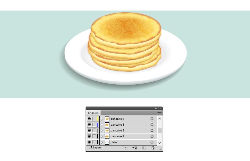 add more pancakes