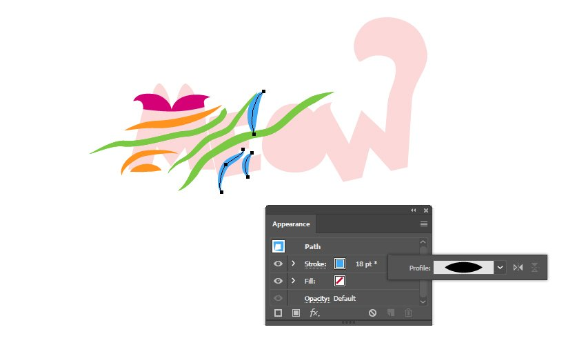 how to draw stripes on letter E