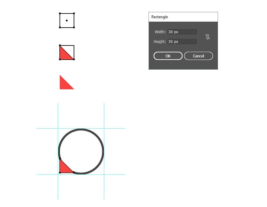 how to create the second vector social media icon shape