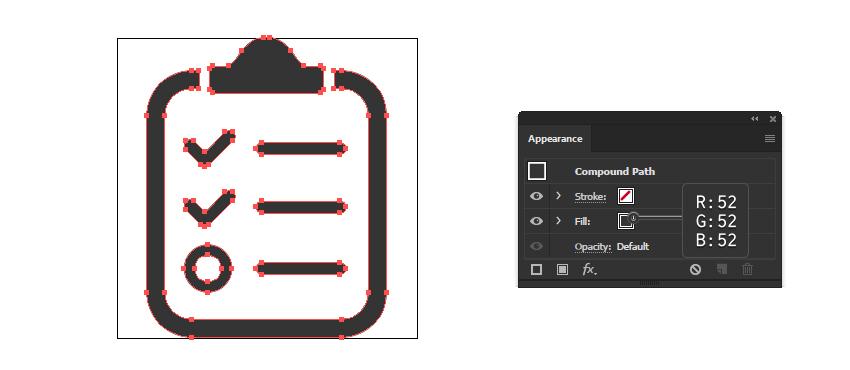 final clipboard report icon design