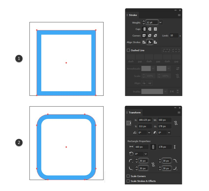 how to create a clipboard minimal icon