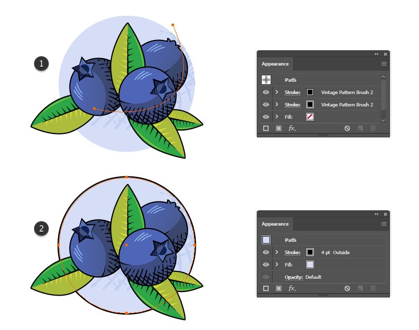 how to create a vintage crosshatching shadow in Adobe Illustrator