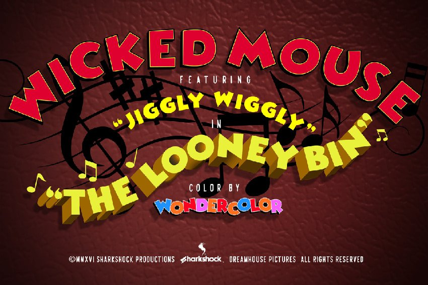 Wicked Mouse Font recommended from Envato Elements