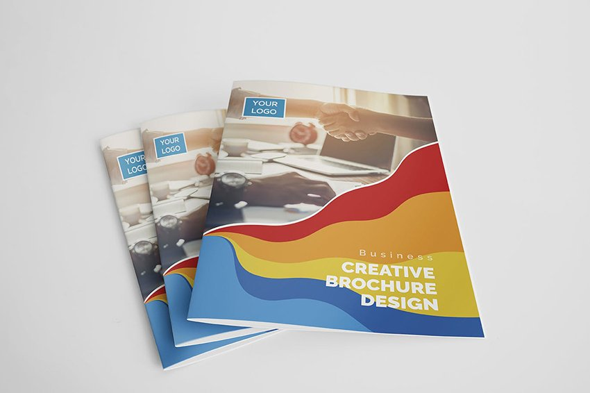 first brochure template recommendation from Envato Elements