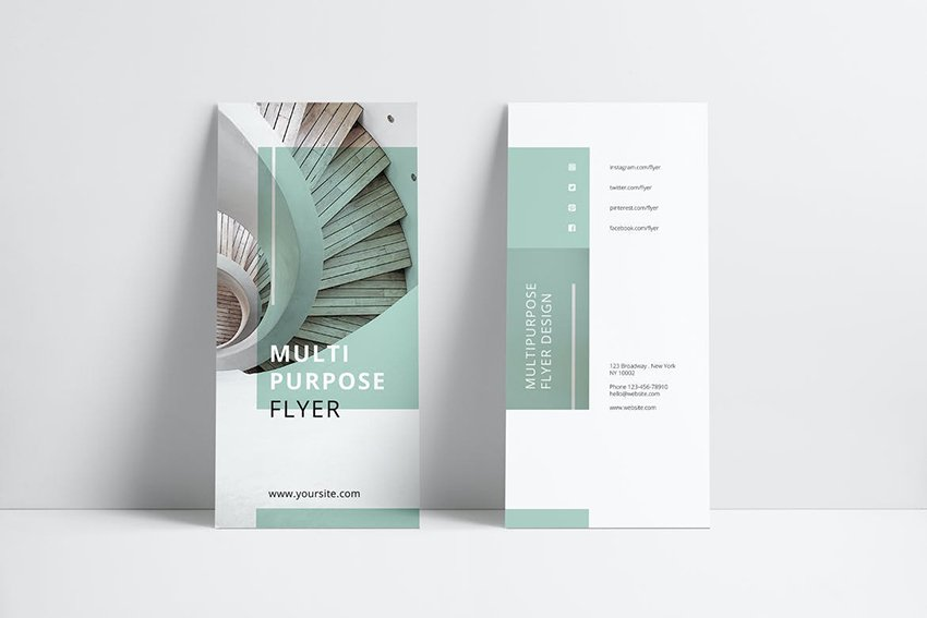 fourth brochure template recommendation from Envato Elements