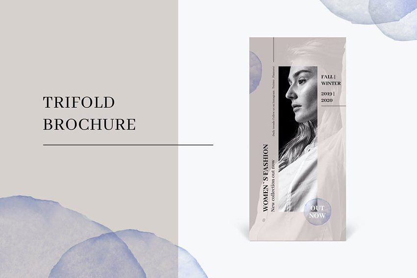fifth brochure template recommendation from Envato Elements