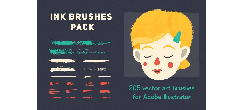 Ink Brushes Pack