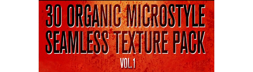 30 Organic Micro-Style Seamless Texture Pack