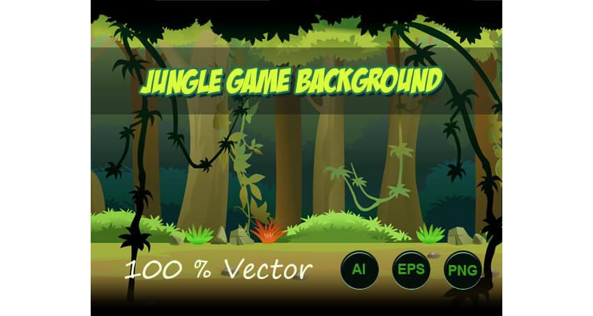 jungle run game background