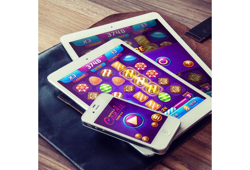 Match-3 Candy Game GUI