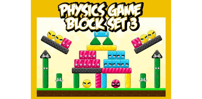 Physics Game Block Set 3
