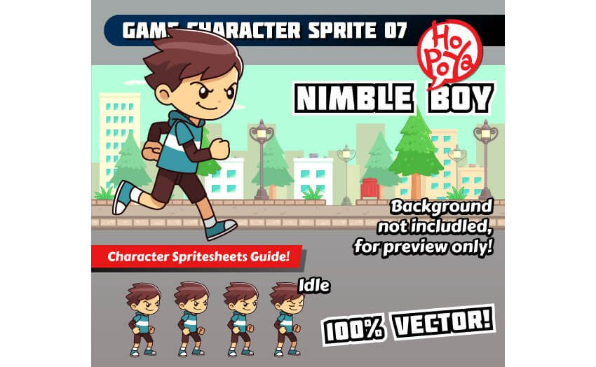 Game Character Sprite 07