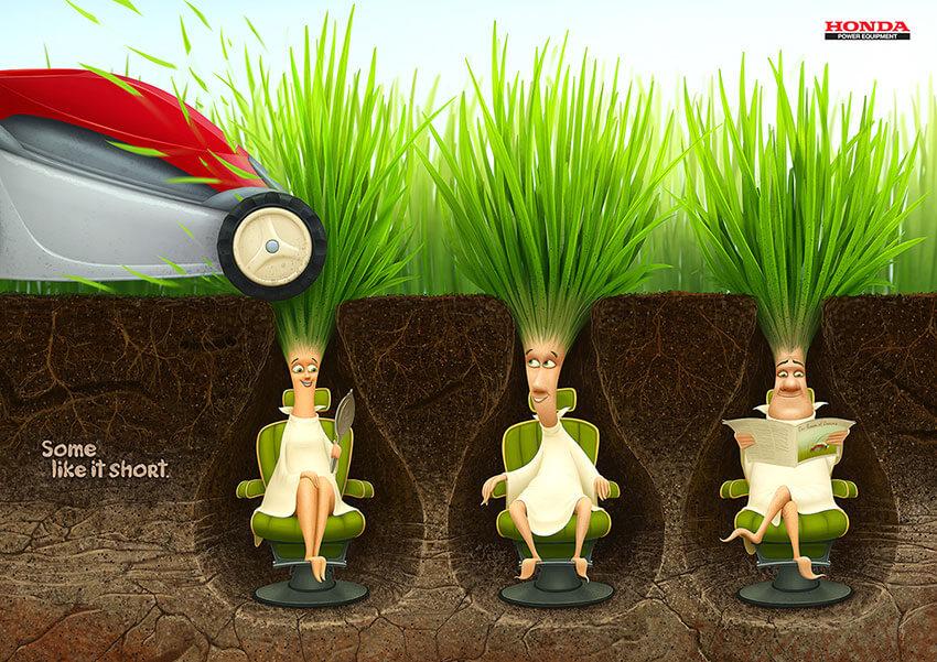 Honda lawn mowers Some like it short