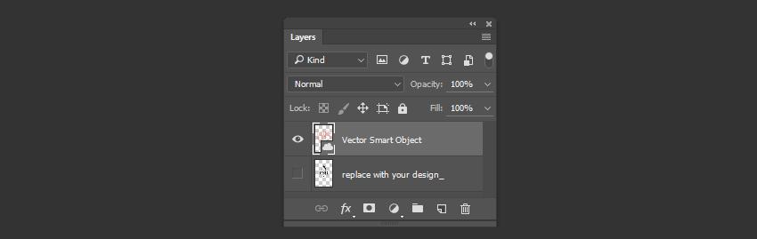 Hide the original design layer