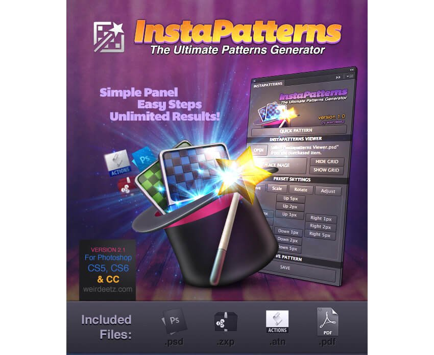 Instapatterns Turns Any Images Into Patterns