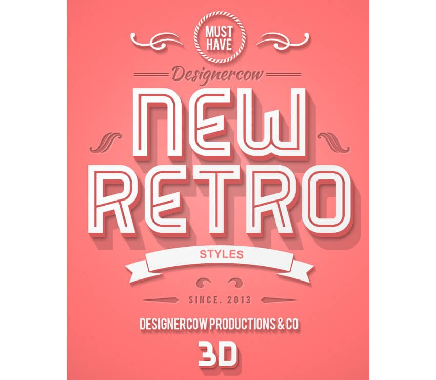 New 3D Retro Creator