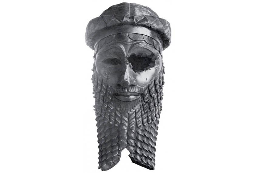Akkadian king head