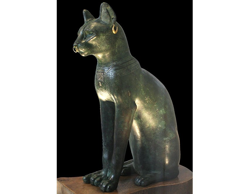 Gayer-Anderson Cat believed to be a representation of Bastet