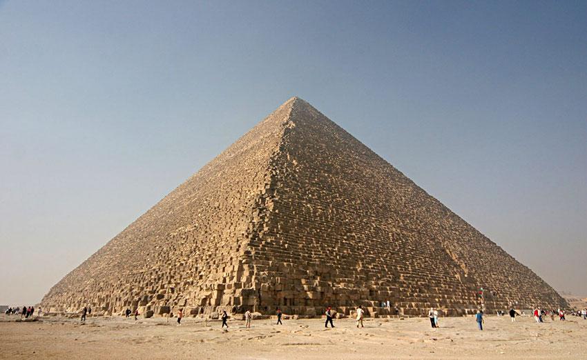 Great Pyramid at Giza Image By Nina - Own work CC BY 25
