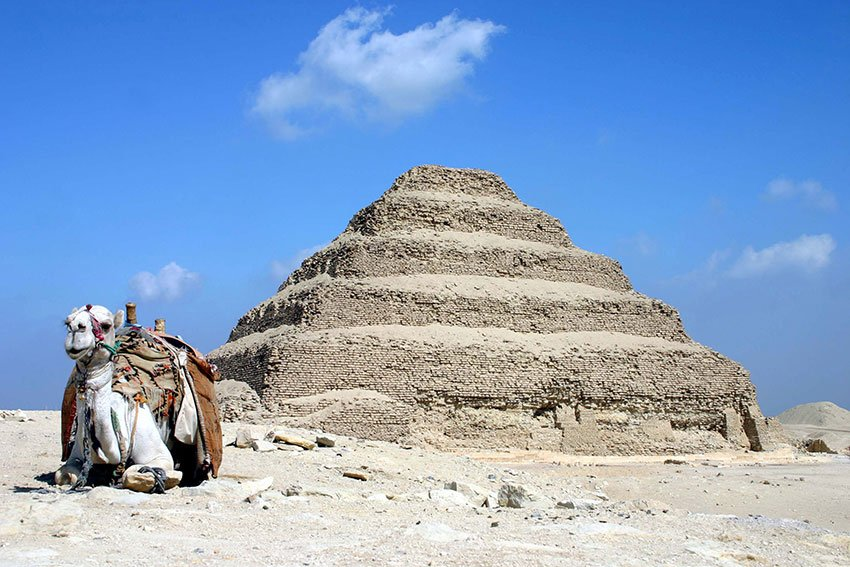 Pyramid of Djoser Image by Charlesjsharp