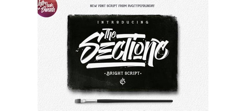 The sectione bright script