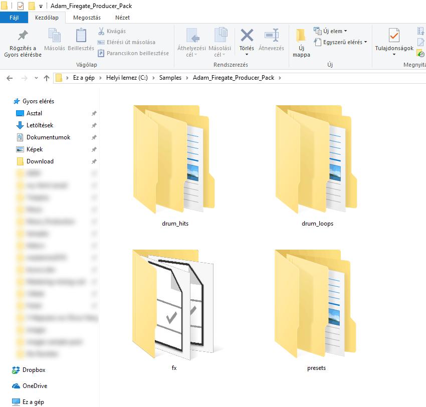 Main Folders