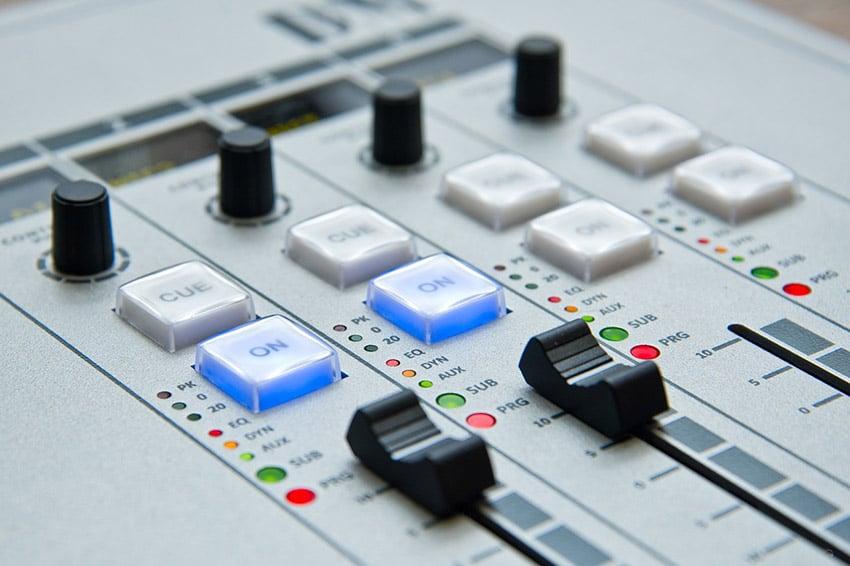 Modern Mixing Desk