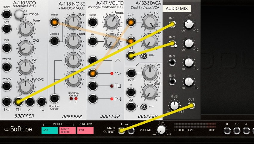 VCO Noise and Mixer