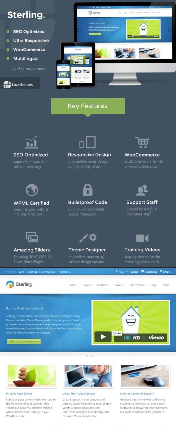Sterling Business Site WP Theme