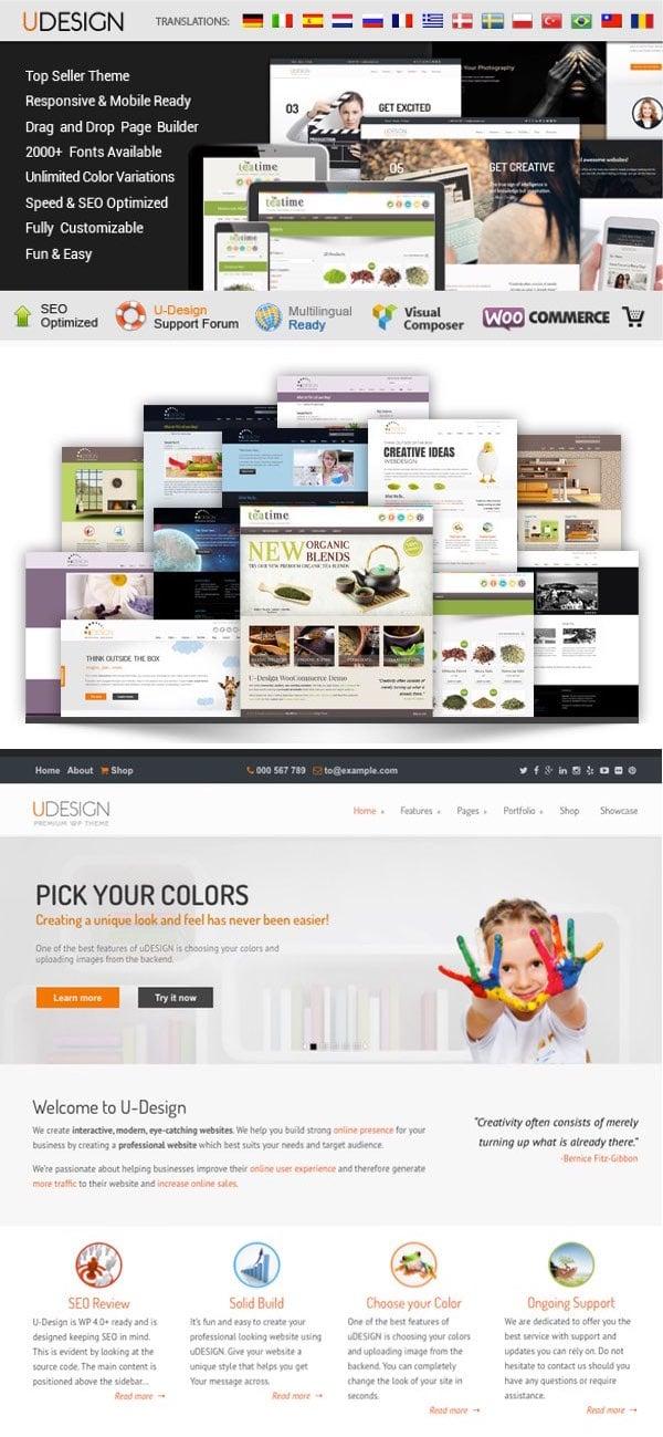 uDesign Corporate WordPress Theme