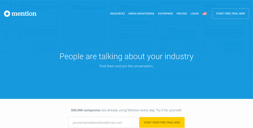 Mention - Keep on top of your small business brand social mentions