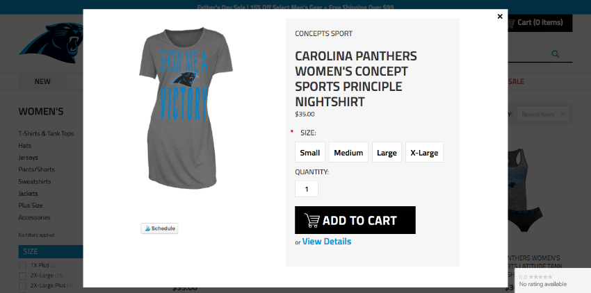 Panthers site