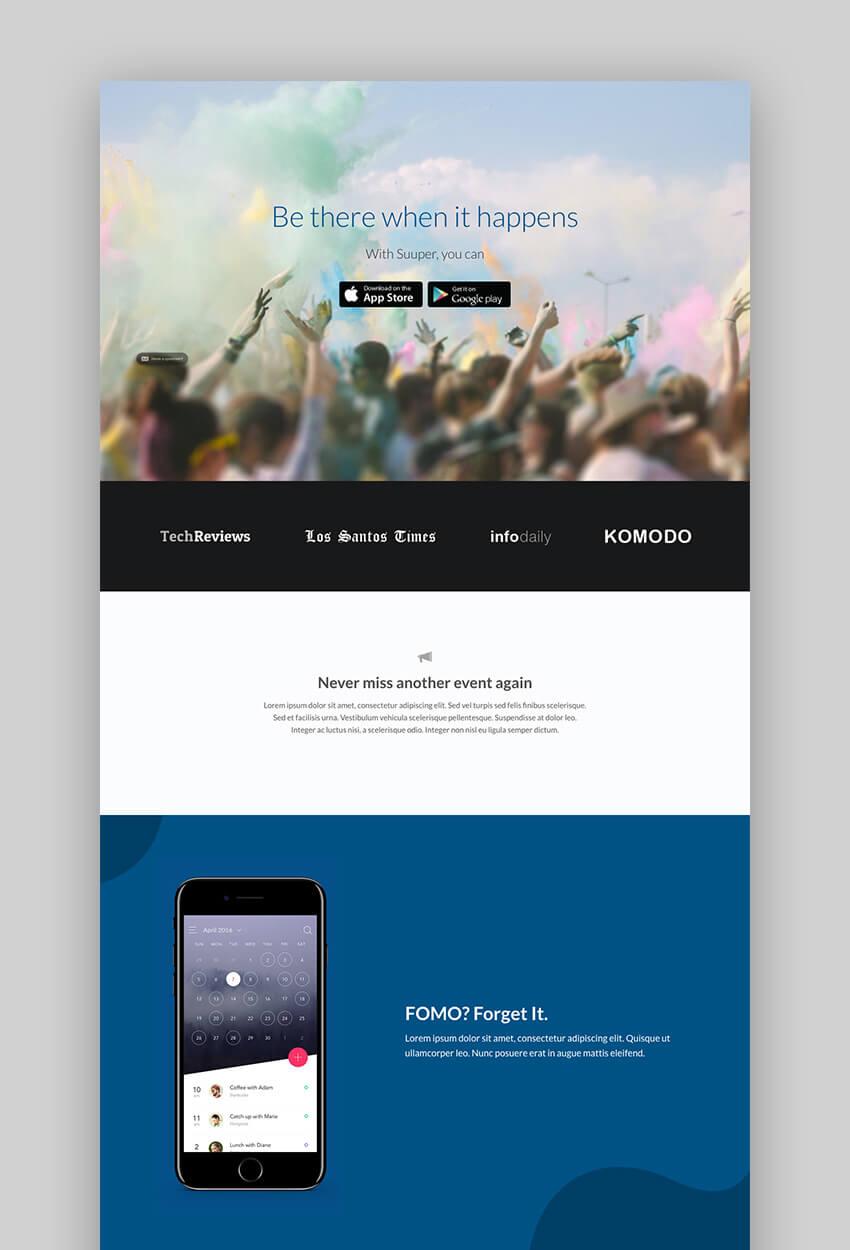Stratus Flexible App Software WordPress Theme