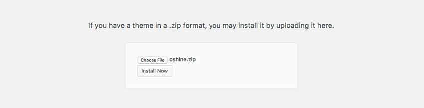 Installing a responsive WordPress theme