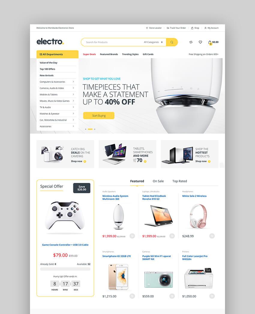 Electro WooCommerce Theme
