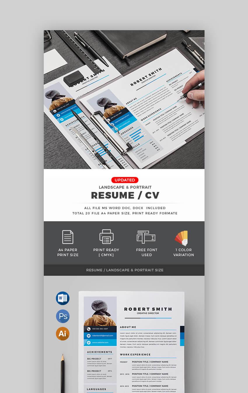 CV - Classy Resume Template