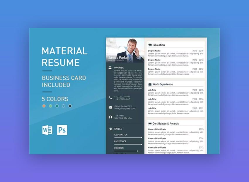 Material Resume