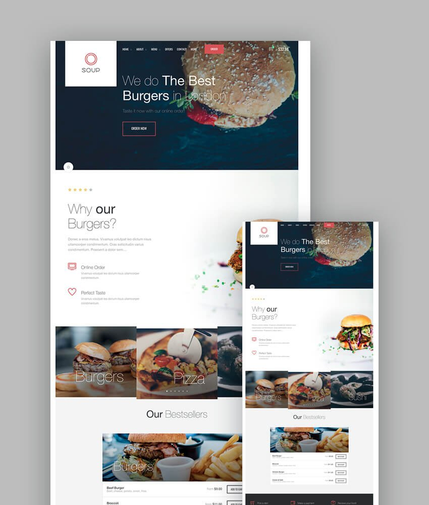 Soup Responsive HTML Template