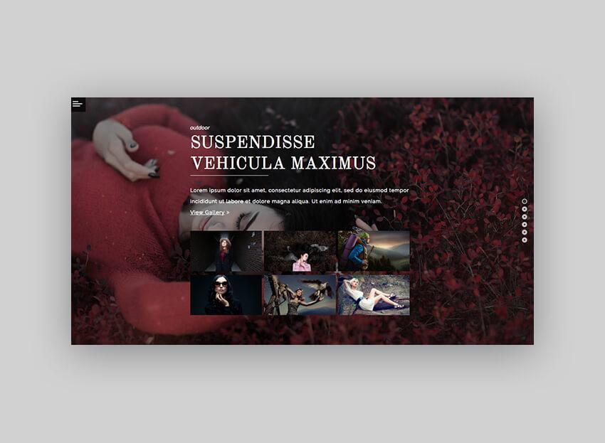 Pix Photography WordPress Theme