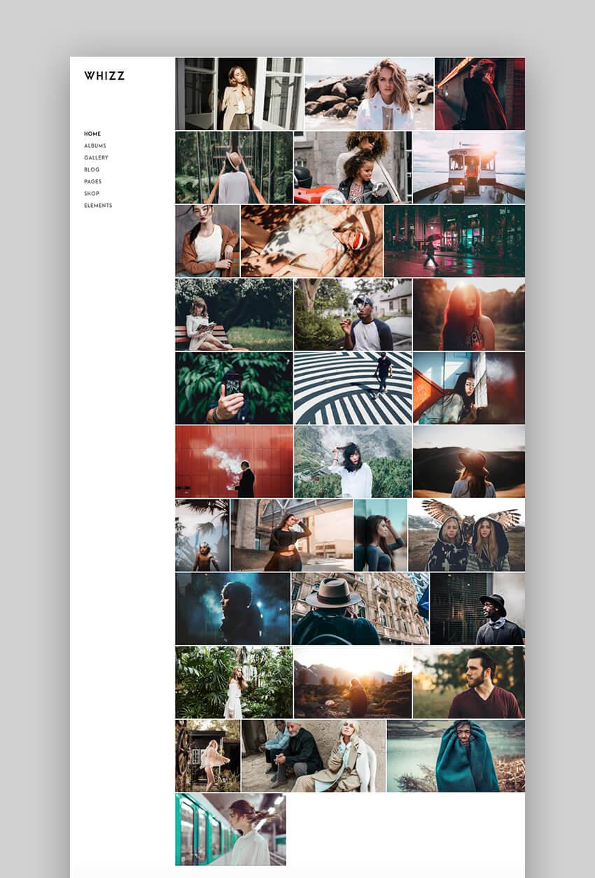 Whizz Photography Theme