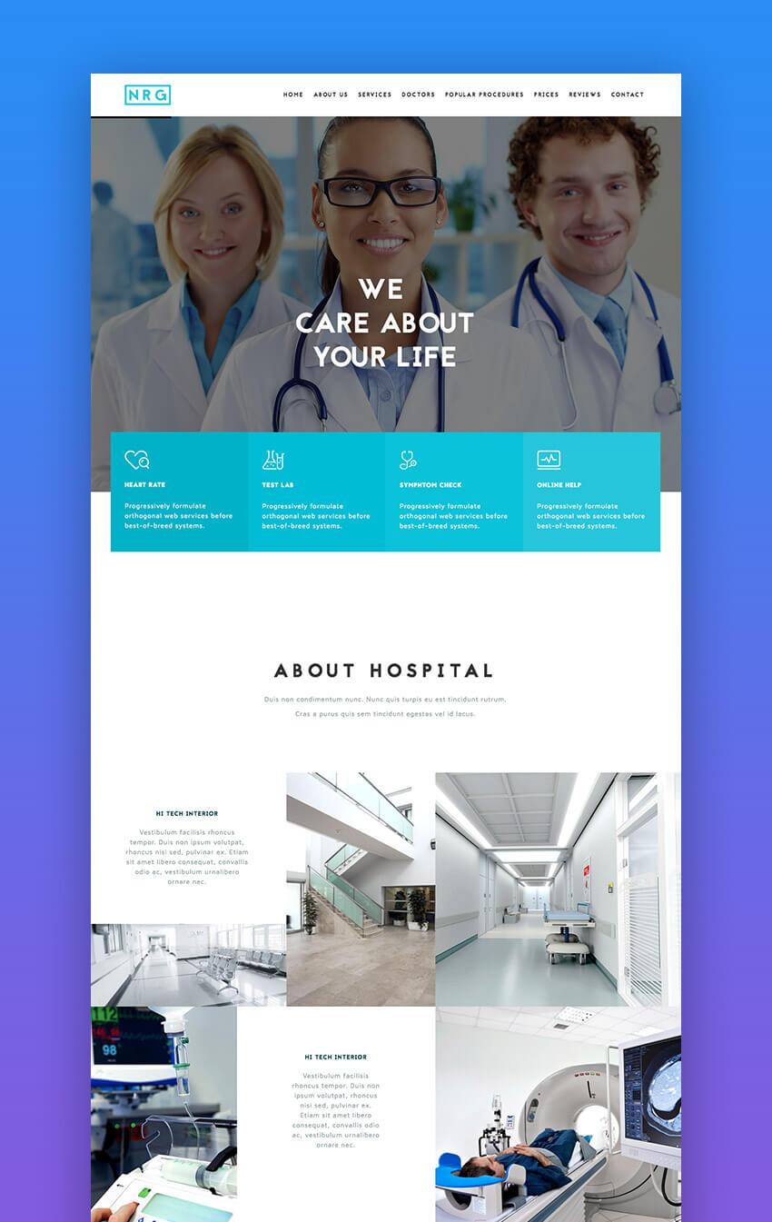 Das WordPress-Theme für Krankenhausmedizin